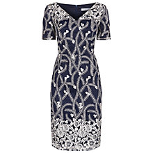 Buy Fenn Wright Manson Rhea Dress, Blue/Silver Online at johnlewis.com
