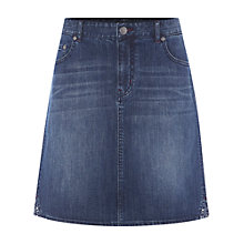 Buy Fat Face Country Walk Skirt, Denim Online at johnlewis.com