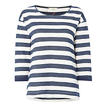 Buy White Stuff Autumn Breeze T-Shirt, Mount Blue Online at johnlewis.com