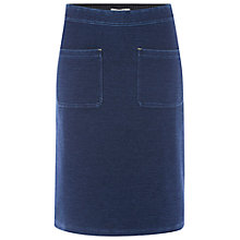 Buy White Stuff Kilmory Pocket Skirt, Denim Online at johnlewis.com