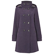 Buy White Stuff Moleskin Coat, Navy Online at johnlewis.com