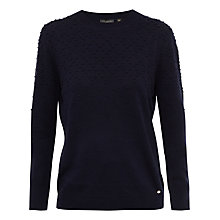 Buy Ted Baker Sabria Bobble Crew Neck Jumper Online at johnlewis.com
