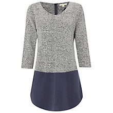Buy White Stuff Parade Mews Tunic, Wildling Grey Online at johnlewis.com