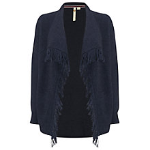 Buy White Stuff Winding Path Cardigan, Mount Blue Online at johnlewis.com