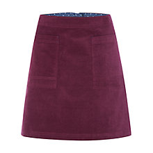 Buy White Stuff Coffee Cord Skirt, Pansy Purple Online at johnlewis.com