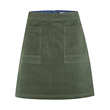 Buy White Stuff Coffee Cord Skirt, Spinach Green Online at johnlewis.com