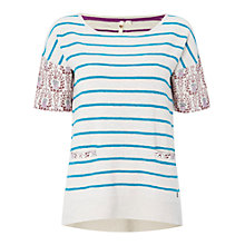 Buy White Stuff Oriental Knit Top, Multi Online at johnlewis.com