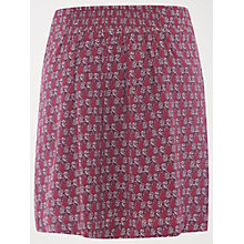 Buy Fat Face Thistledown Skirt, Pansy Purple Online at johnlewis.com
