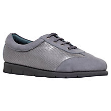 Buy Carvela Casper Lace Up Trainers, Grey Online at johnlewis.com