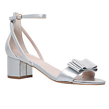 Buy Carvela Gertrude Bow Block Heeled Sandals Online at johnlewis.com