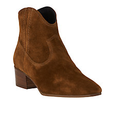 Buy L.K. Bennett Dylan Ankle Boots, Tobacco Online at johnlewis.com