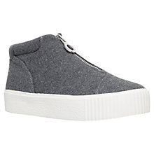 Buy Carvela Little Zip Trainers, Grey Online at johnlewis.com