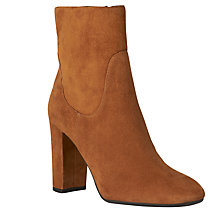 Buy L.K. Bennett Pellino Block Heeled Ankle Boots Online at johnlewis.com