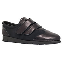 Buy Carvela Comfort Connie Trainers, Black Online at johnlewis.com