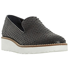 Buy Dune Garnish Slip On Flatform Loafers Online at johnlewis.com