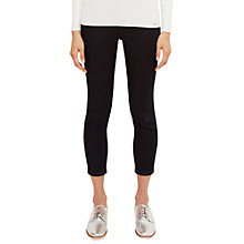 Buy Ted Baker Lucc Cropped Jeans, Rinse Denim Online at johnlewis.com