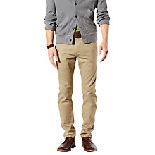 Buy Dockers Alpha Skinny Fit Twill Trousers Online at johnlewis.com