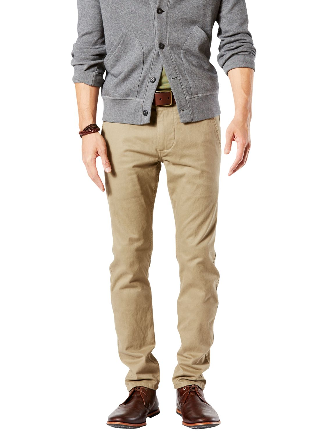 Dockers Dockers Alpha Skinny Fit Twill Trousers