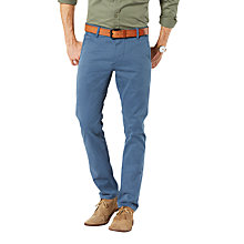 Buy Dockers Alpha Skinny Fit Twill Trousers, Bering Sea Online at johnlewis.com
