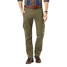 Buy Dockers Slim Fit Twill Field Cargo Trousers Online at johnlewis.com