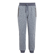 Buy John Lewis Boys' Textured Joggers, Grey Online at johnlewis.com