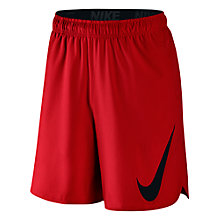 "Buy Nike Hyperspeed Woven 8"" Shorts, University Red/Black Online at johnlewis.com"