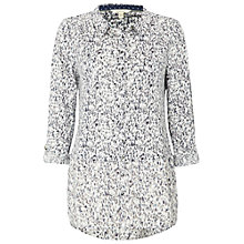 Buy White Stuff Lucy Linen Jersey Shirt, Wolf Grey Online at johnlewis.com