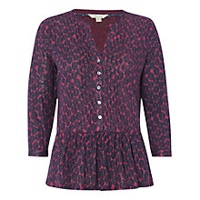 Buy White Stuff Wild Thing Linen Shirt, Orchid Purple Online at johnlewis.com