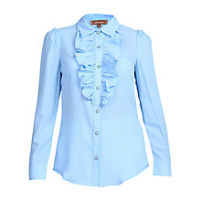 Buy Jolie Moi Ruffle Front Shirt Online at johnlewis.com