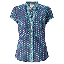 Buy East Anatolia Booti Blouse, Teal Online at johnlewis.com