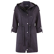 Buy Mint Velvet Mercury Parka, Blue Online at johnlewis.com