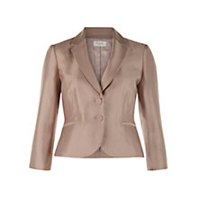 Buy Hobbs Dalilah Jacket, Latte Beige Online at johnlewis.com
