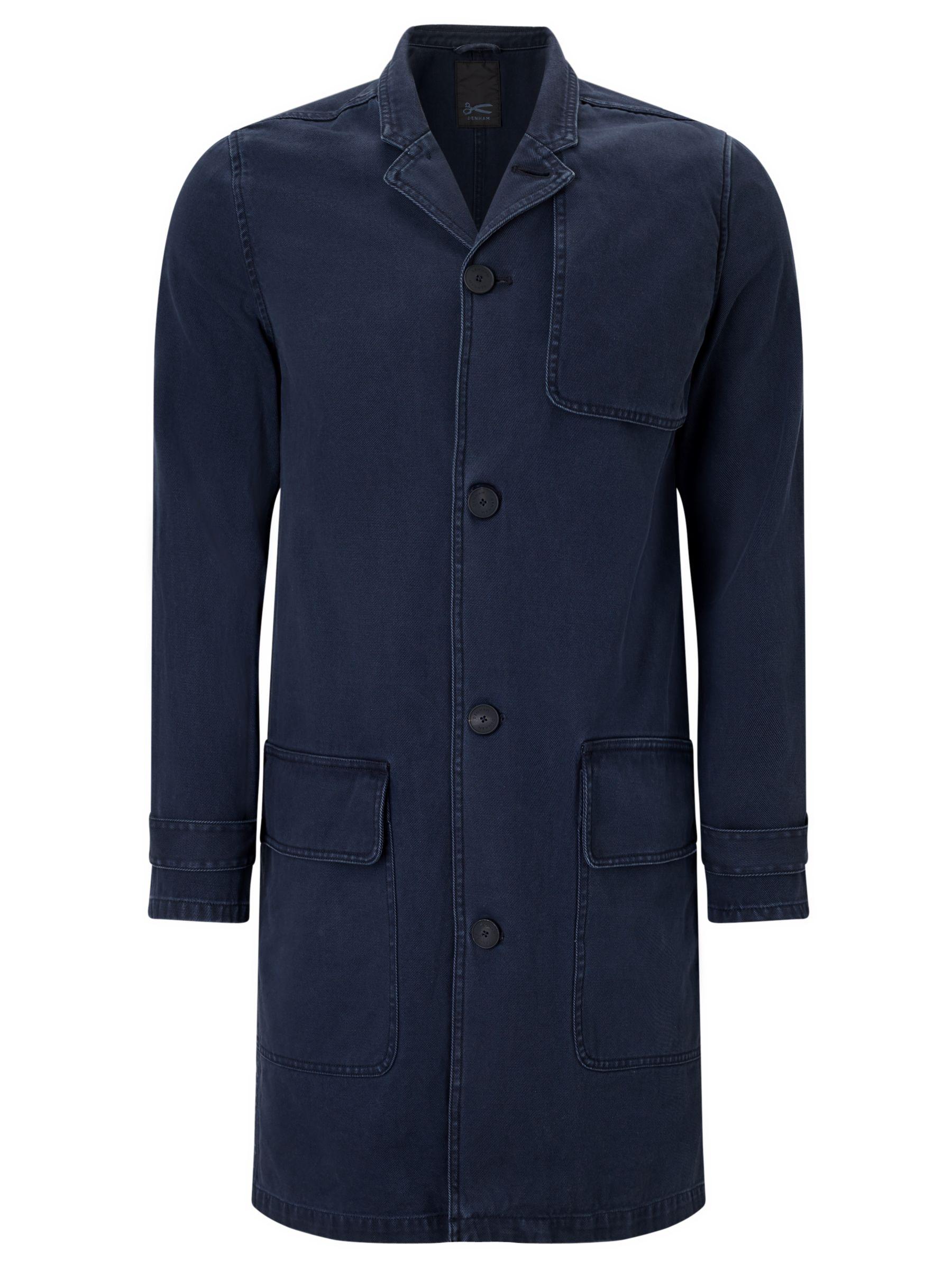 Denham Denham Travel Coat, Dark Navy