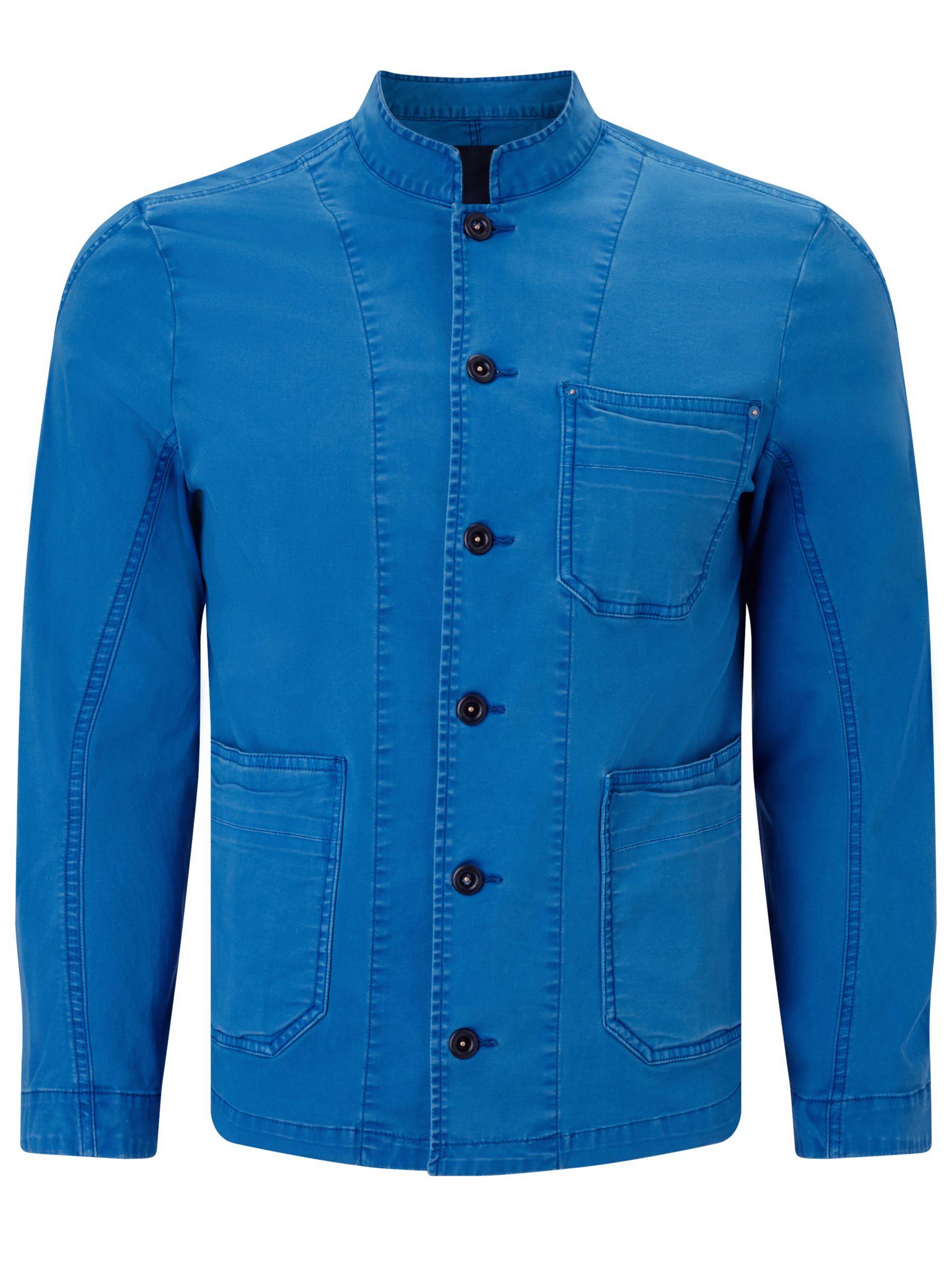 Denham Denham Mao Apex Workwear Jacket, Blue City