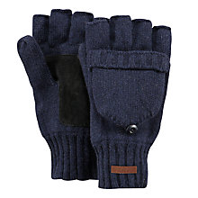 Buy Barts Haakon Gloves, Navy Online at johnlewis.com