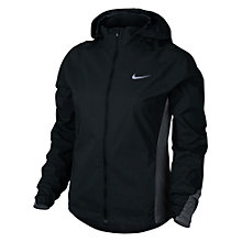 Buy Nike Hypershield Women's Running Jacket, Black/Anthracite Online at johnlewis.com