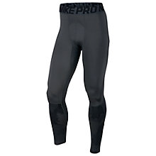 Buy Nike Pro Hyperwarm Tights, Black Online at johnlewis.com