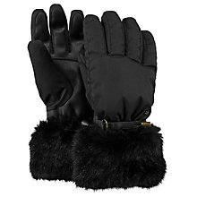 Buy Barts Empire Ski Gloves, Black Online at johnlewis.com