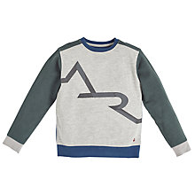 Buy Angel & Rocket Branded Sweatshirt, Grey Online at johnlewis.com