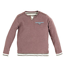 Buy Angel & Rocket Boys' Long Sleeve T-Shirt, Red Online at johnlewis.com