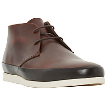 Buy Bertie Curtis Smart Formal Leather Chukka Boots, Tan Online at johnlewis.com