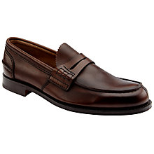 Buy Churchs Pembury Loafers, Cognac Online at johnlewis.com