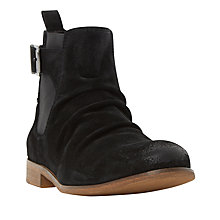 Buy Dune Casper Boots, Black Online at johnlewis.com