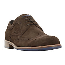 Buy Dune Radcliffe Suede Brogues Online at johnlewis.com