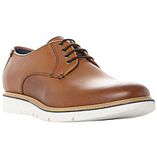 Buy Dune Borneo Leather Colour Pop Wedge Shoe, Tan Online at johnlewis.com