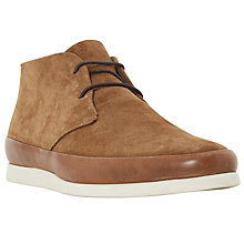 Buy Bertie Curtis Contrast Rand Lace-Up Chukka Boots, Tan Online at johnlewis.com