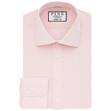 Buy Thomas Pink Chambers Stripe Athletic Fit Shirt, White/Pink Online at johnlewis.com