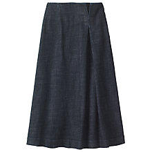 Buy Toast Long Denim Skirt, Indigo Online at johnlewis.com