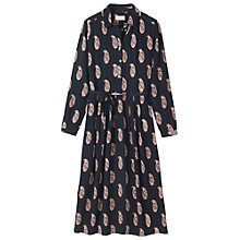 Buy Toast Paisley Print Shirt Dress, Navy Online at johnlewis.com