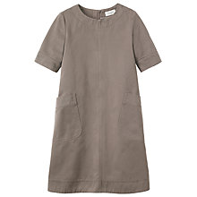 Buy Toast Dora Cotton Twill Dress, Mole Online at johnlewis.com